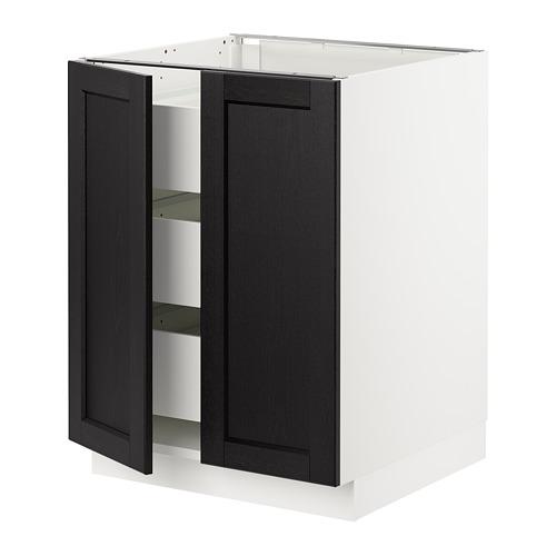 SEKTION armario bajo+2 puertas/3 gavetas