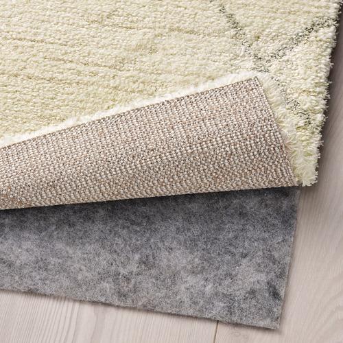 "TVERSTED alfombra, pelo corto, 4' 4""x 6' 5"""