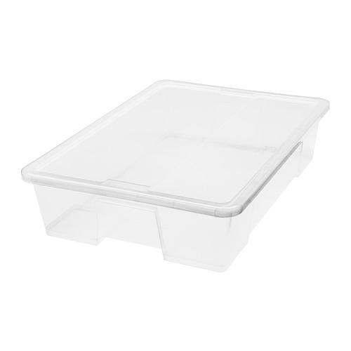 SAMLA caja con tapa