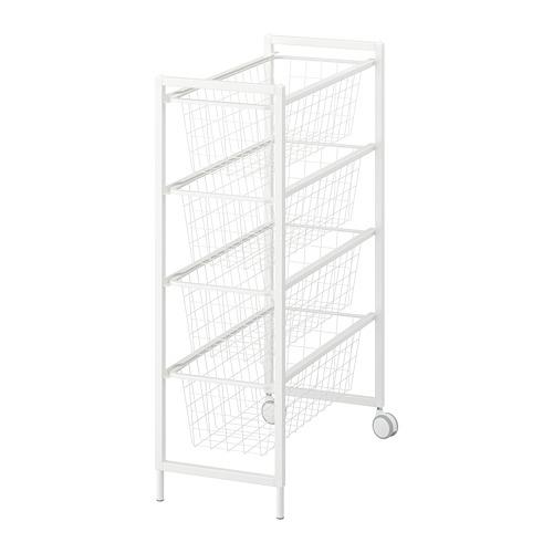 JONAXEL estructura+canasta de alambre/ruedas