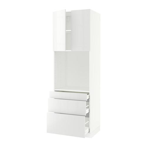 MAXIMERA/SEKTION arm alto horno+3 gavetas/2 puertas