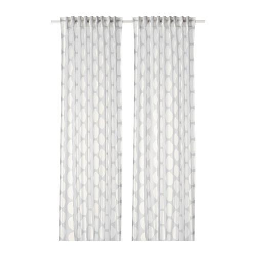 REIDUNN cortinas, 1 par