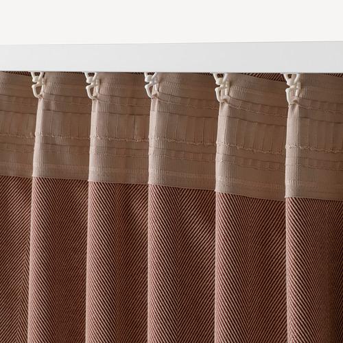 TIBAST cortinas opacas, 1 par