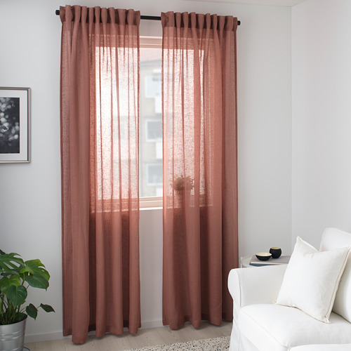 LEJONGAP cortinas, 1 par