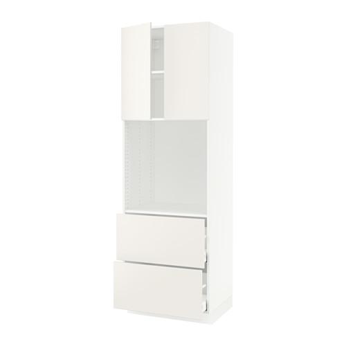 MAXIMERA/SEKTION arm alto horno+2 gavetas/2 puertas
