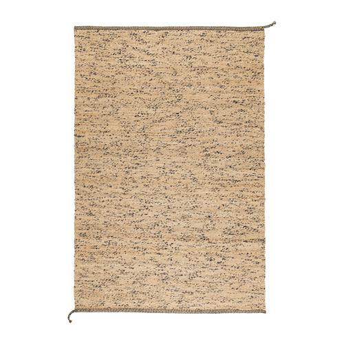 "MELHOLT alfombra, lisa, 4' 4""x 6' 5"""