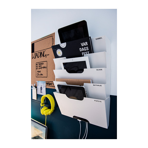 KVISSLE wall magazine rack