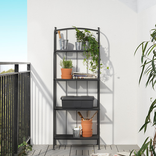 LÄCKÖ shelving unit, outdoor