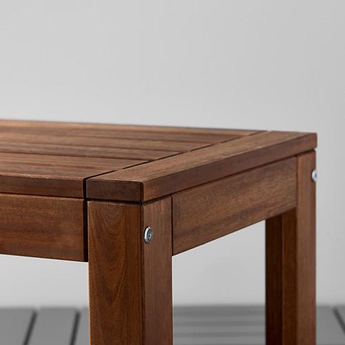 ÄPPLARÖ mesa+2 sillas reposabrazos+banco