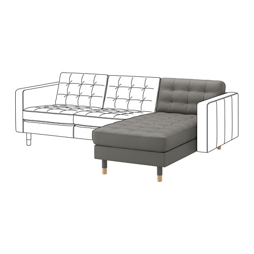 MORABO chaise longue, extension module for sofa