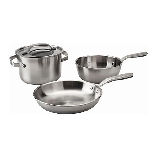 SENSUELL 4-piece cookware set