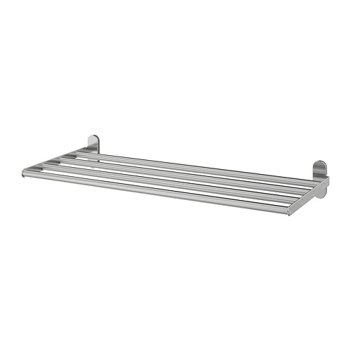 BROGRUND estante de pared con toallero