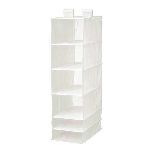 SKUBB almacenaje colgante con 6 compartimientos