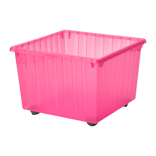 VESSLA storage crate with casters