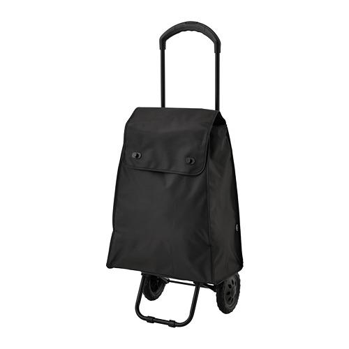 KNALLA bolsa para compras con ruedas