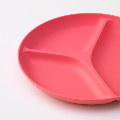 HEROISK plate with 3 compartments, sed of 2