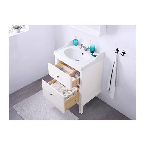 HEMNES armario para lavamanos+2 gavetas