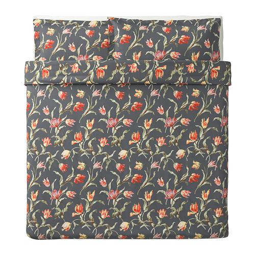 ÅLANDSROT duvet cover and pillowcase(s)