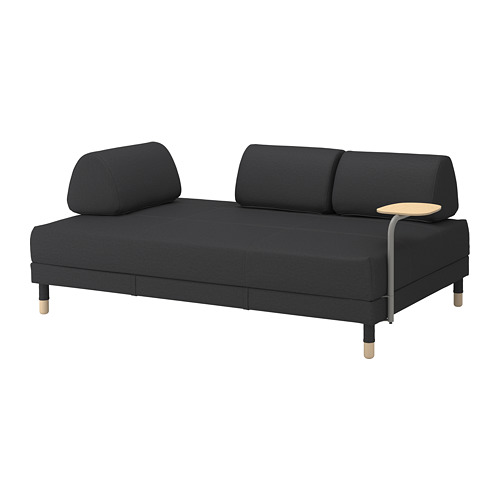 FLOTTEBO sofá cama 3 plazas con mesa auxiliar