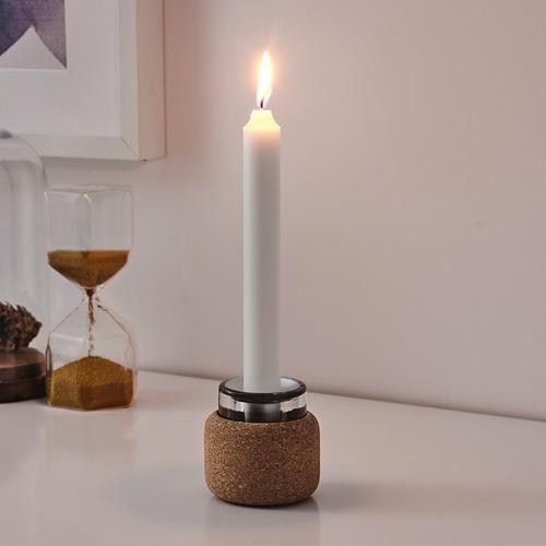 FÖRENLIG candelero/portavelas vela pequeña