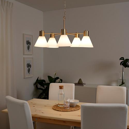 FLUGBO chandelier, 5-arm