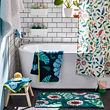 SANDBREDAN cortina de baño