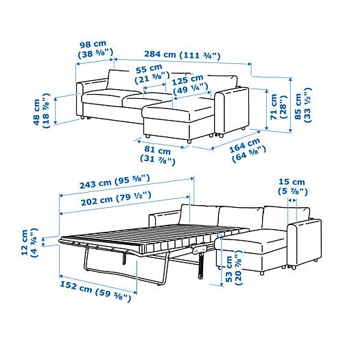 FINNALA sofá cama