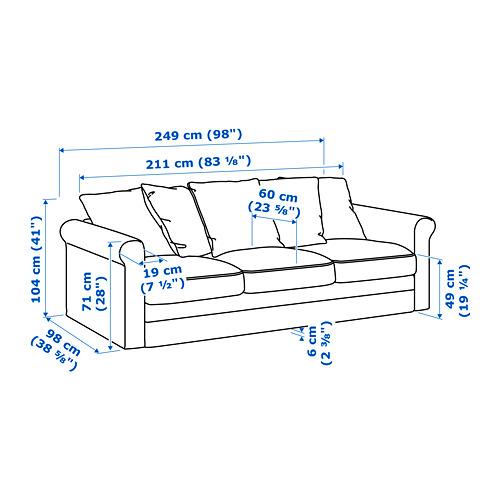 HÄRLANDA 3 seat sofa