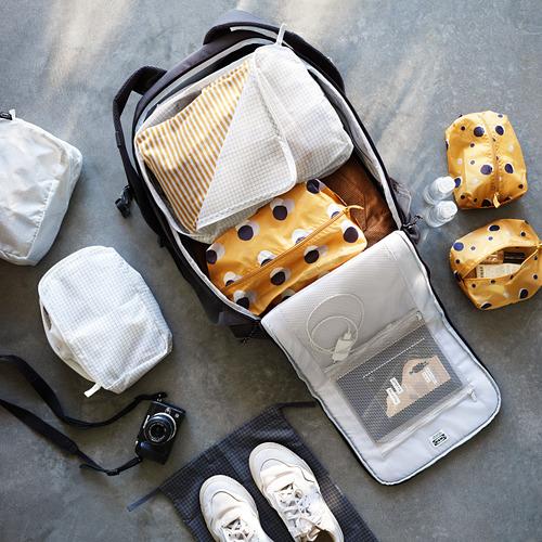 RENSARE bolsa para ropa con compartimientos