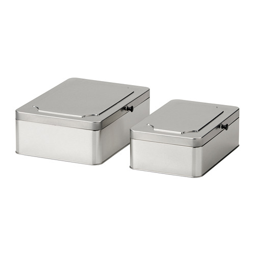 ANILINARE box with lid, set of 2
