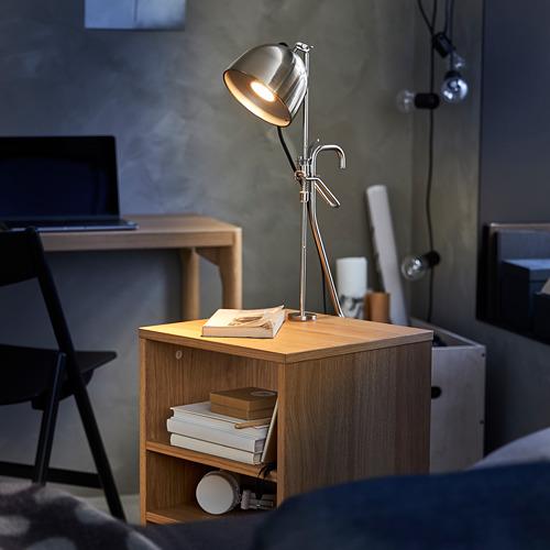 RÅVAROR lámpara de mesa+abrazadera