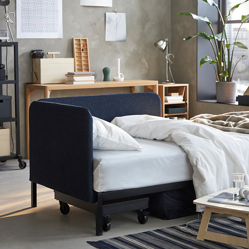 RÅVAROR daybed with 1 mattress
