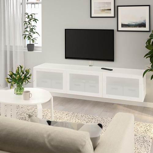 BESTÅ TV unit with doors
