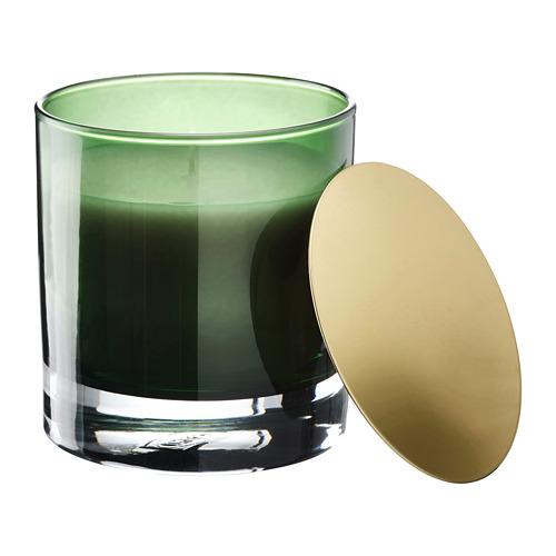 OMRÅDE vela perfumada en vidrio