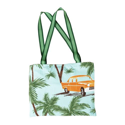 SOLBLEKT beach towel with bag