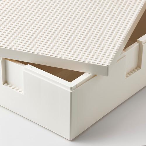 BYGGLEK LEGO® box with lid