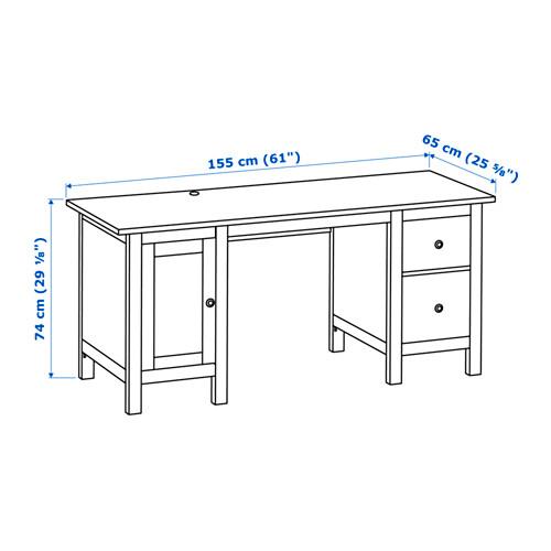 HEMNES escritorio