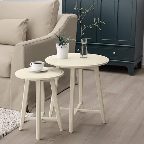 KRAGSTA nesting tables, set of 2