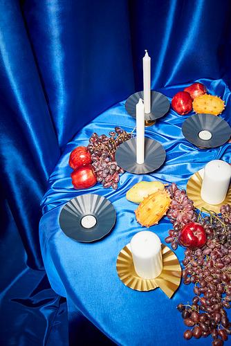 KARISMATISK plato para velas