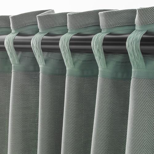 TIBAST cortinas, 1 par