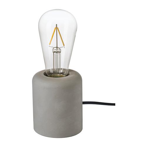 RÅSEGEL lámpara de mesa