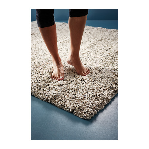 """VINDUM alfombra, pelo largo, 4 ' 4 """"x 5 ' 11 """""""
