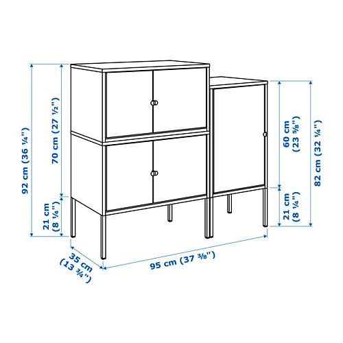 LIXHULT combinación de armario