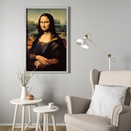 "BJÖRKSTA marco e imagen, 30 ¾""x46 ½"""