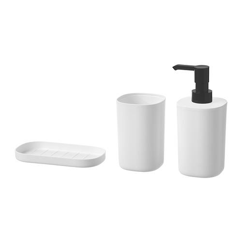 STORAVAN juego de baño, 3 piezas