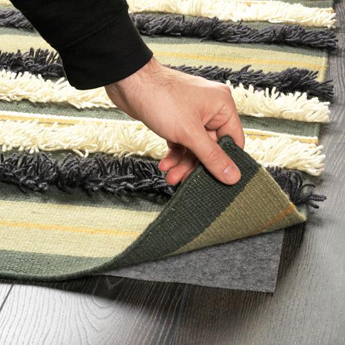 DEKORERA alfombra de tejido liso