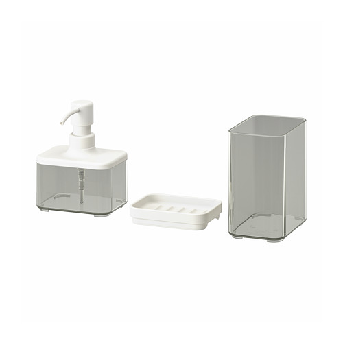 BROGRUND 3-piece bathroom set