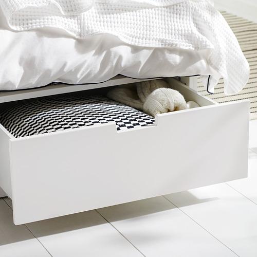NORDLI estructura de cama+almacenaje