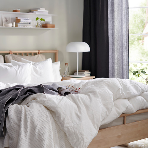 BJÖRKSNÄS estructura de cama, queen