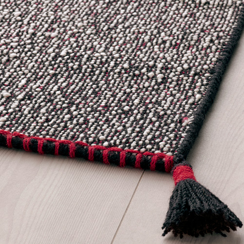 KOKSEBY rug, flatwoven